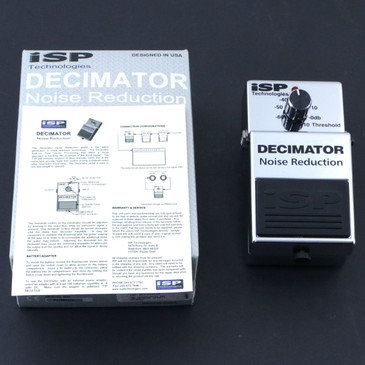 ISP Decimator Noise Gate Guitar Effects Pedal P-07147