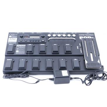 Line 6 Pod XT Live Guitar Multi-Effects Pedal & Power Supply P-07121