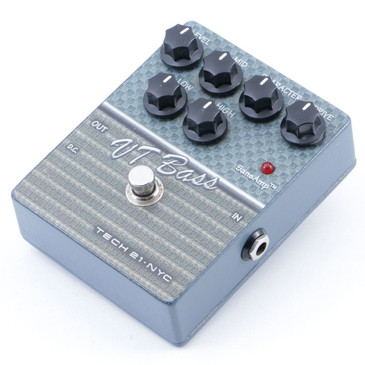 Tech 21 VT Bass Guitar Effects Pedal P-07156