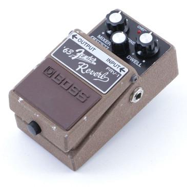 Boss FRV-1 '63 Fender Reverb Guitar Effects Pedal P-07149