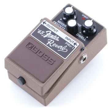 Boss FRV-1 '63 Fender Reverb Guitar Effects Pedal P-07150