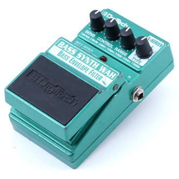 Digitech Bass Synth Wah Envelope Filter Bass Guitar Effects Pedal P-07180