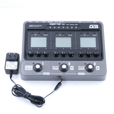 Zoom G3 Guitar Multi-Effects Pedal & Power Supply P-07177