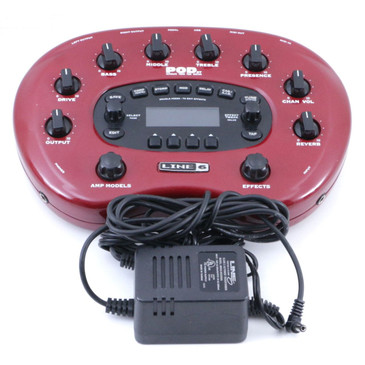 Line 6 Pod XT Guitar Effects Processor & Power Supply P-07167