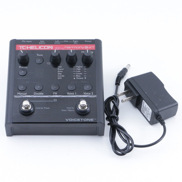 TC Helicon Harmony G-XT Vocal Effects Pedal & Power Supply P-07178
