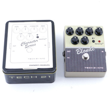Tech 21 Blonde V2 Overdrive Guitar Effects Pedal P-07175