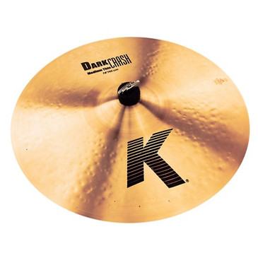 "Zildjian 18"" K Series Dark Medium Thin Crash Cymbal"