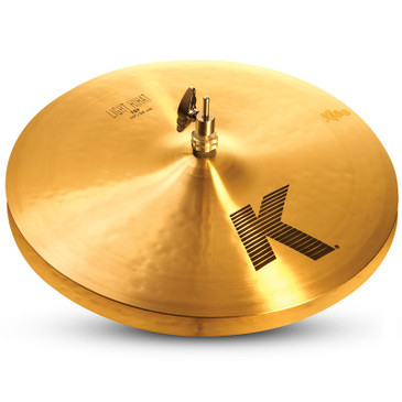 "Zildjian 15"" K Series Light Hi-Hat Cymbal Pair Traditional Finish"
