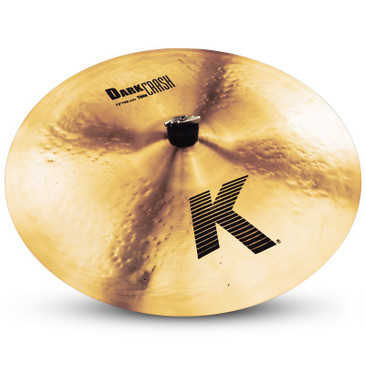 "Zildjian 19"" K Series Dark Thin Crash Cymbal Traditional Finish"