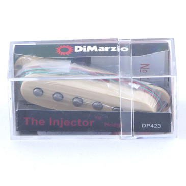 Dimarzio DP423 Paul Gilbert Injector Bridge Single Coil Pickup Cream