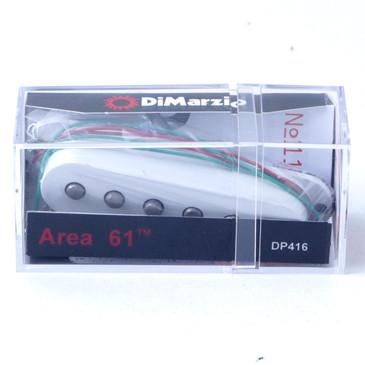 Dimarzio DP416 Area '61 Single Coil Pickup White Cover