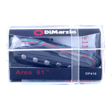 Dimarzio DP416 Area '61 Single Coil Pickup Black Cover