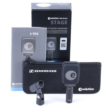 NEW Sennheiser e906 Dynamic Supercardioid Instrument Microphone