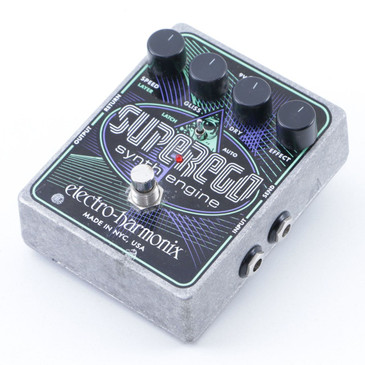 Electro-Harmonix SuperEgo Synth Engine Guitar Effects Pedal P-07195
