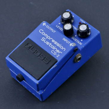 Boss Japan CS-2 Compression Sustainer Guitar Effects Pedal P-07205