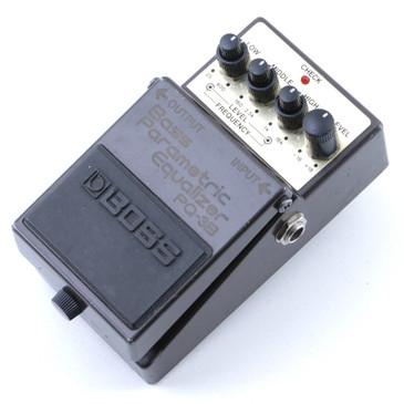 Boss PQ-3B Bass Parametric Equalizer Bass Guitar Effects Pedal P-07227