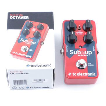 TC Electronic Sub N Up Octave Guitar Effects Pedal P-07230