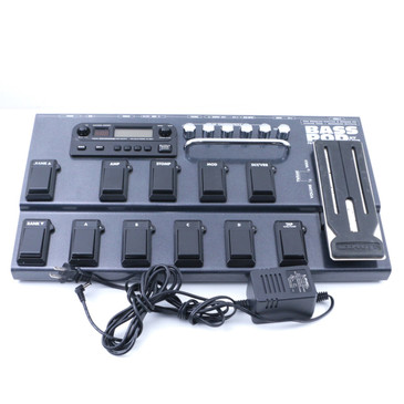 Line 6 Bass Pod XT Live Bass Guitar Multi-Effects Pedal & Power Supply P-07215