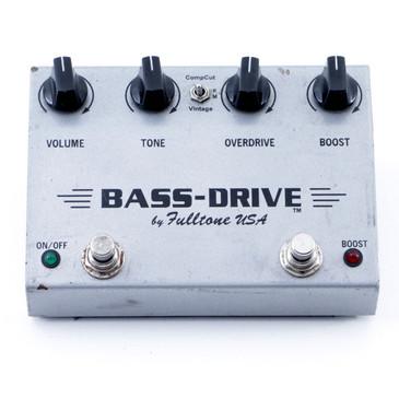 Fulltone Bass-Drive Overdrive Bass Guitar Effects Pedal P-07228