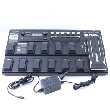 Line 6 Pod XT Live Guitar Multi-Effects Pedal & Power Supply P-07214