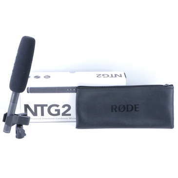 Rode NTG2 Condenser Shotgun Microphone MC-3206