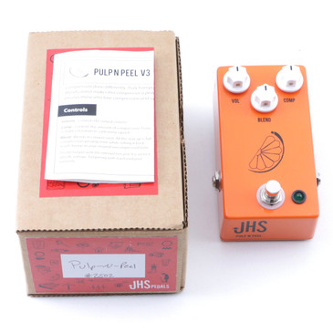 JHS Pulp N Peel V3 Compression Guitar Effects Pedal P-07259