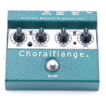 Fulltone CF-1 Choralflange Chorus / Flanger Guitar Effects Pedal P-07286