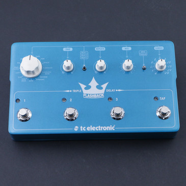 TC Electronic Flashback Triple Delay Delay Guitar Effects Pedal P-07291
