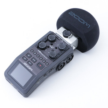 Zoom H6 Handy Recorder w/ MSH-6 Capsule OS-8353