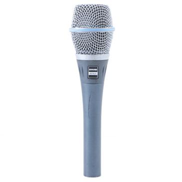 Shure Beta 87 Condenser SuperCardioid Microphone MC-3286