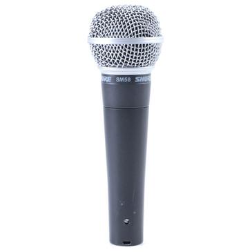 Shure SM58 Dynamic Cardioid Microphone MC-3267