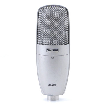 Shure KSM27 Condenser Cardioid Microphone MC-3257