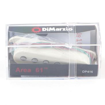 Dimarzio DP416 Area '61 Single Coil Pickup Aged White Cover