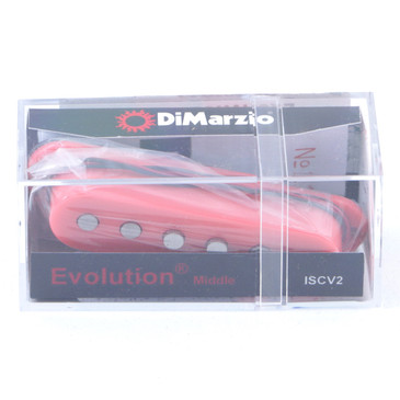 Dimarzio ISCV2 Evolution Single Coil Middle Guitar Pickup Pink