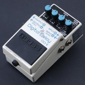 Boss DD-6 Digital Delay Guitar Effects Pedal P-07340