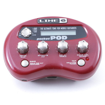 Line 6 Pocket Pod Multi Effects Guitar Effects Processor P-07334
