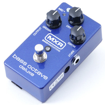 MXR M288 Bass Octave Deluxe Bass Guitar Effects Pedal P-07322