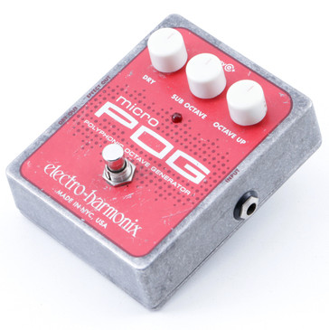 Electro-Harmonix Micro POG Octave Guitar Effects Pedal P-07324