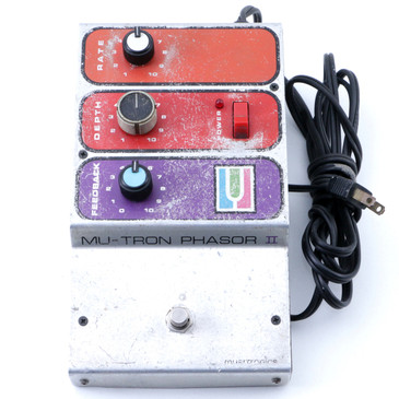 Mu-Tron Phasor II Phaser Guitar Effects Pedal P-07355