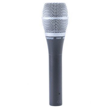 Shure SM86 Condenser Cardioid Microphone MC-3317