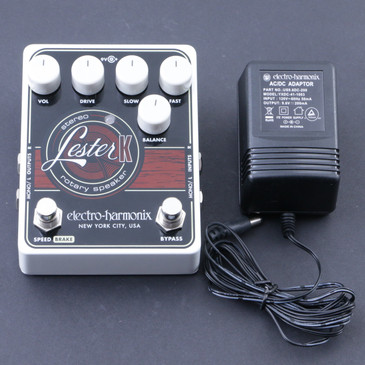 Electro-Harmonix Lester K Rotary Guitar Effects Pedal & Power Supply P-07414