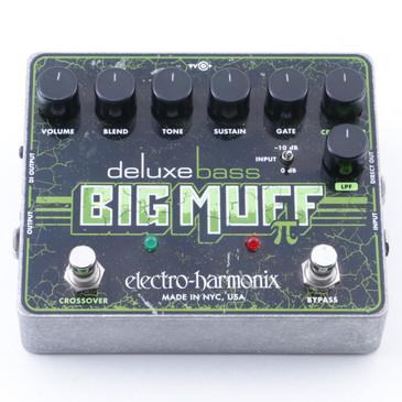 Electro-Harmonix Deluxe Bass Big Muff Pi Fuzz Bass Guitar Effects Pedal P-07419