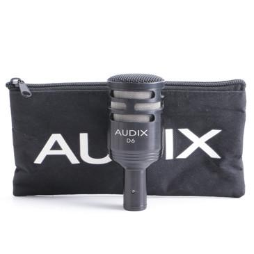 Audix D6 Dynamic Cardioid Microphone MC-3331