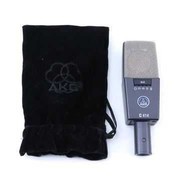 AKG C414 XLS Condenser Multi-Pattern Microphone MC-3326