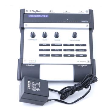Digitech VL2 Vocalist Live 2 Vocal Effects Pedal & Power Supply P-07428