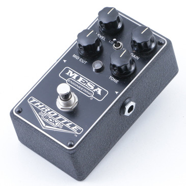 Mesa Engineering Throttle Box Distortion Guitar Effects Pedal P-07442