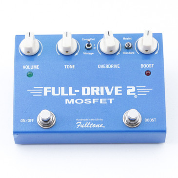 Fulltone FD-2 Full-Drive 2 Mosfet Overdrive Guitar Effects Pedal P-07440