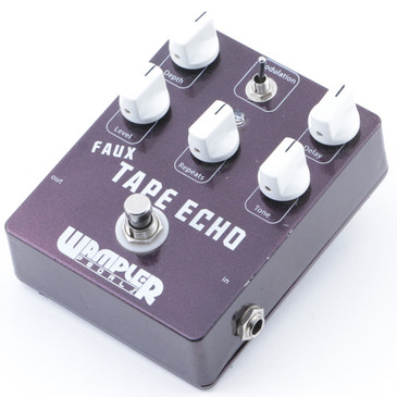 Wampler Faux Tape Echo Delay Guitar Effects Pedal P-07458