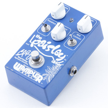 Wampler Paisley Overdrive Guitar Effects Pedal P-07455