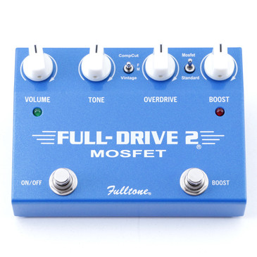 Fulltone Full-Drive 2 Mosfet Overdrive Guitar Effects Pedal P-07480